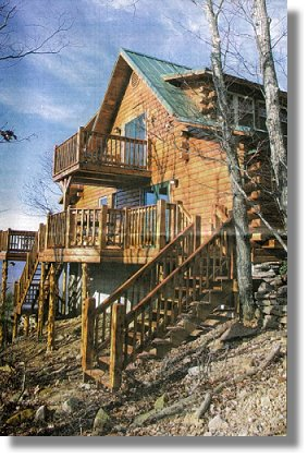 The Ozark Bluff Dwellers Cabins, Perched High Above The Buffalo River  Valley, Have Become Immensely Popular With Visitors To Newton County.
