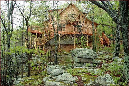 New page 0 for Ozark national forest cabins